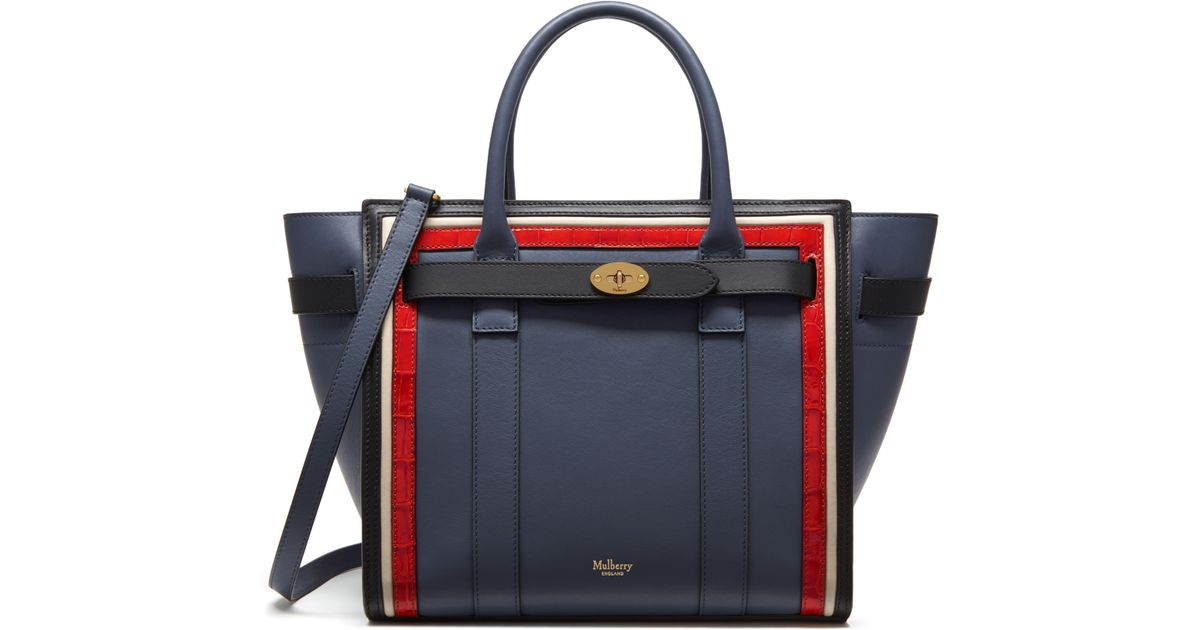 8fac0ce46dbd Lyst - Mulberry Small Zipped Bayswater in Black