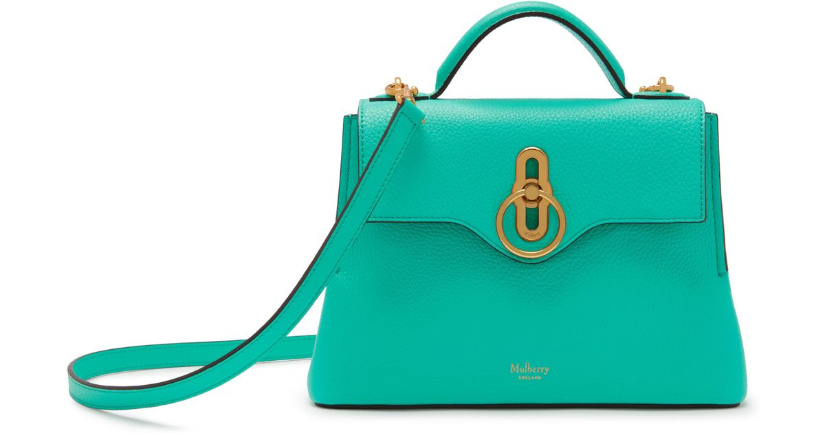 Lyst - Mulberry Mini Seaton in Green f226f5163030e