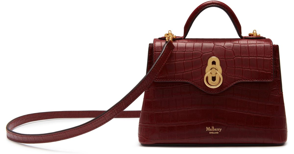 46889314aca8 Mulberry Micro Seaton in Red - Lyst