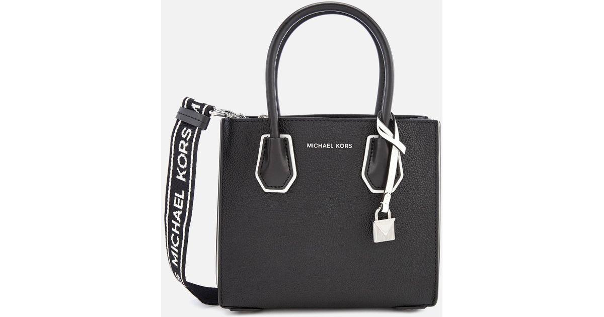 c8c8e5443d58 Lyst - MICHAEL Michael Kors Mercer Accordion Messenger Bag in Black