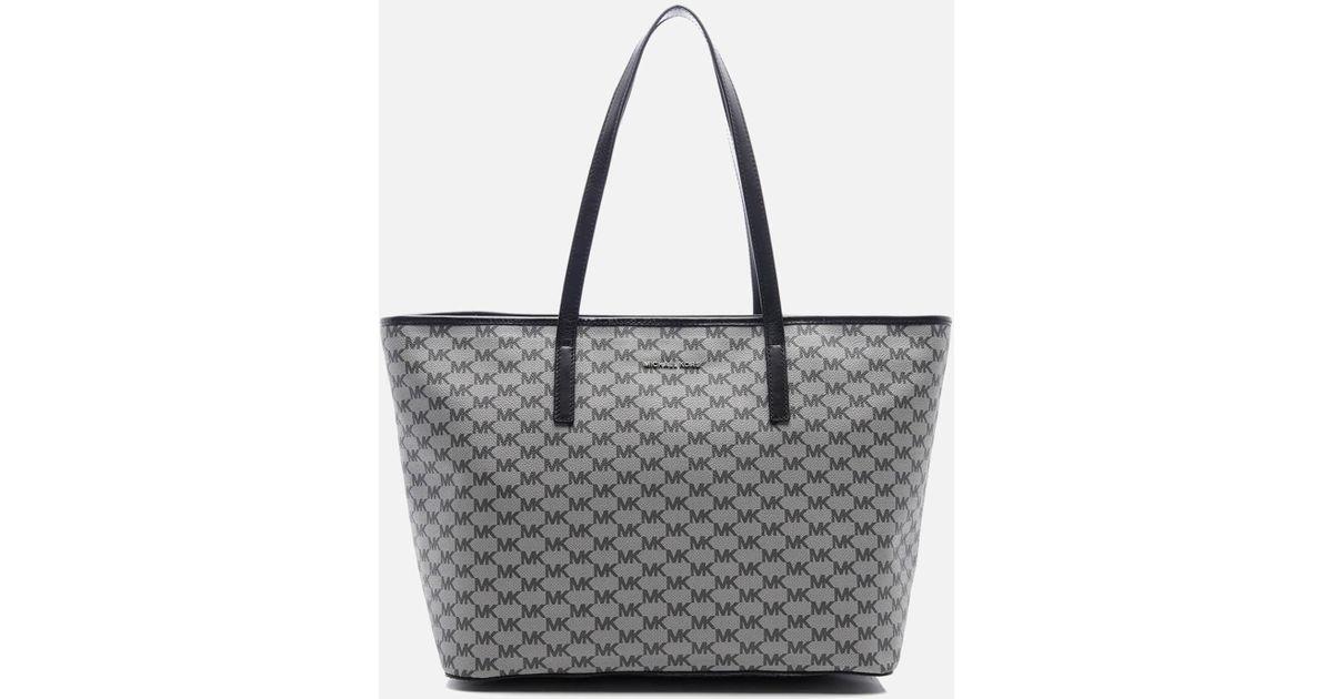 f75dd571ac3c Lyst - MICHAEL Michael Kors Emry Large Top Zip Tote Bag