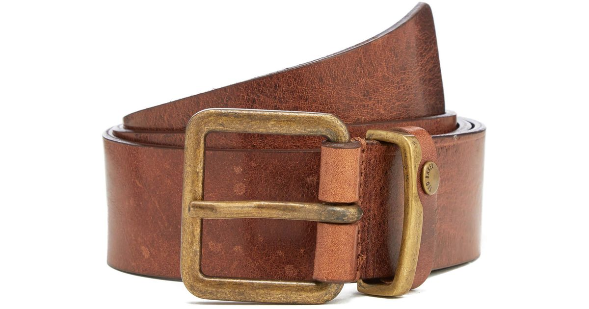 6ee59948a Ted Baker Katchup Casual Leather Belt in Brown for Men - Lyst