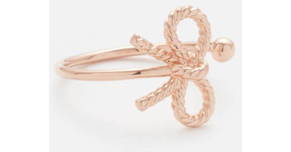 Lyst Olivia burton Vintage Bow Ring