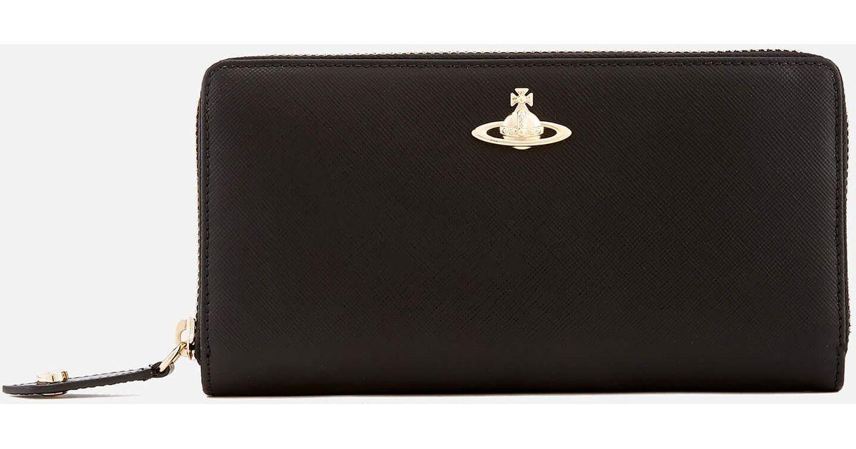 Vivienne Westwood Nappa zip around wallet qUq9ijXAt