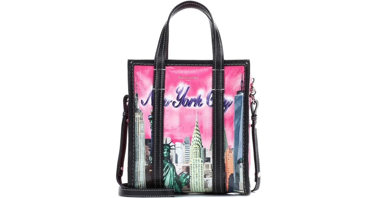 Bazar S New York leather shopper Balenciaga ZREfQJjq