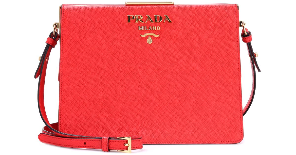 a5efcbfd4d90 – Exclusive Shoulder Prada Leather To Red Saffiano Lyst In Bag dEwXwqH