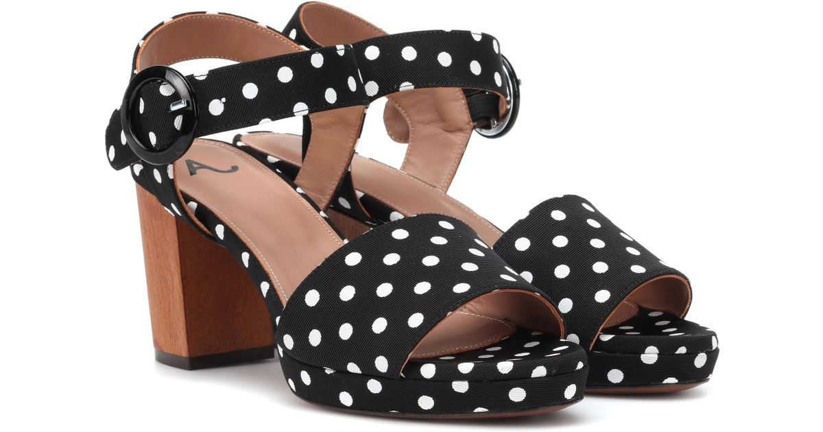 AlexaChung Polka-dot sandals real online sale many kinds of cheap price store hot sale sale online sale online shop VHF1yDbY
