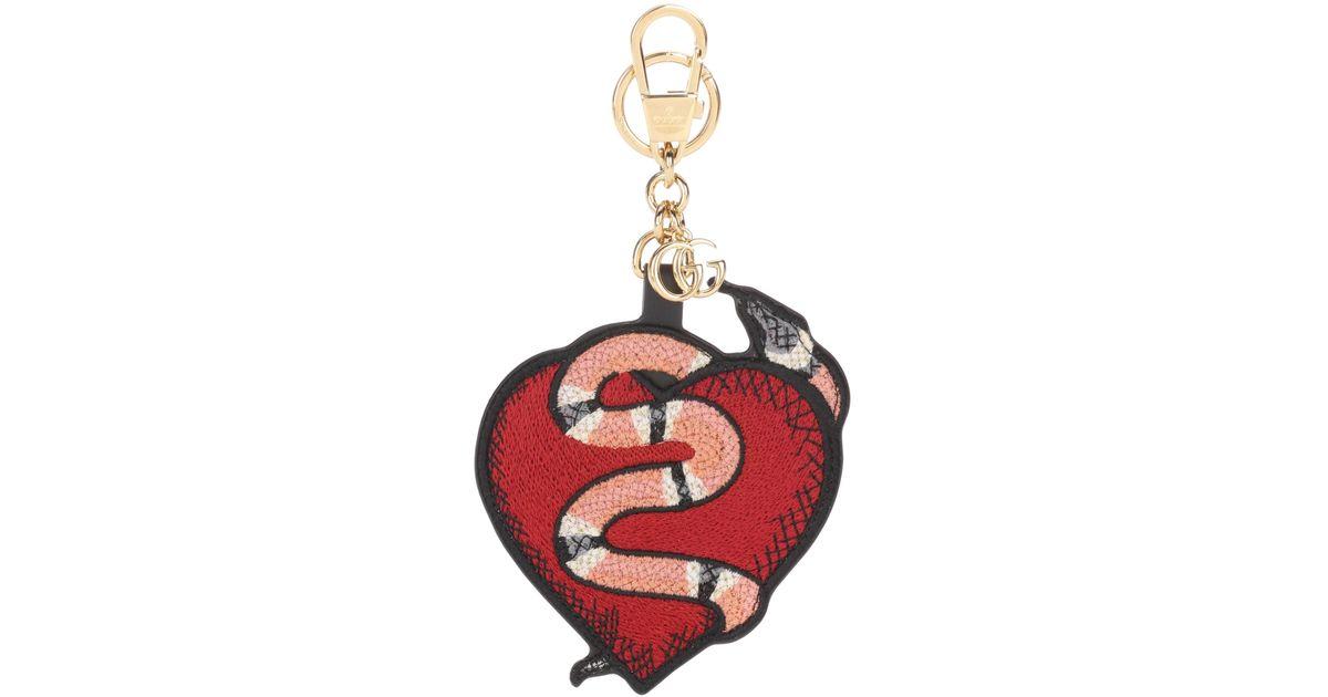 Gucci Heart and Snake keychain La9V0T