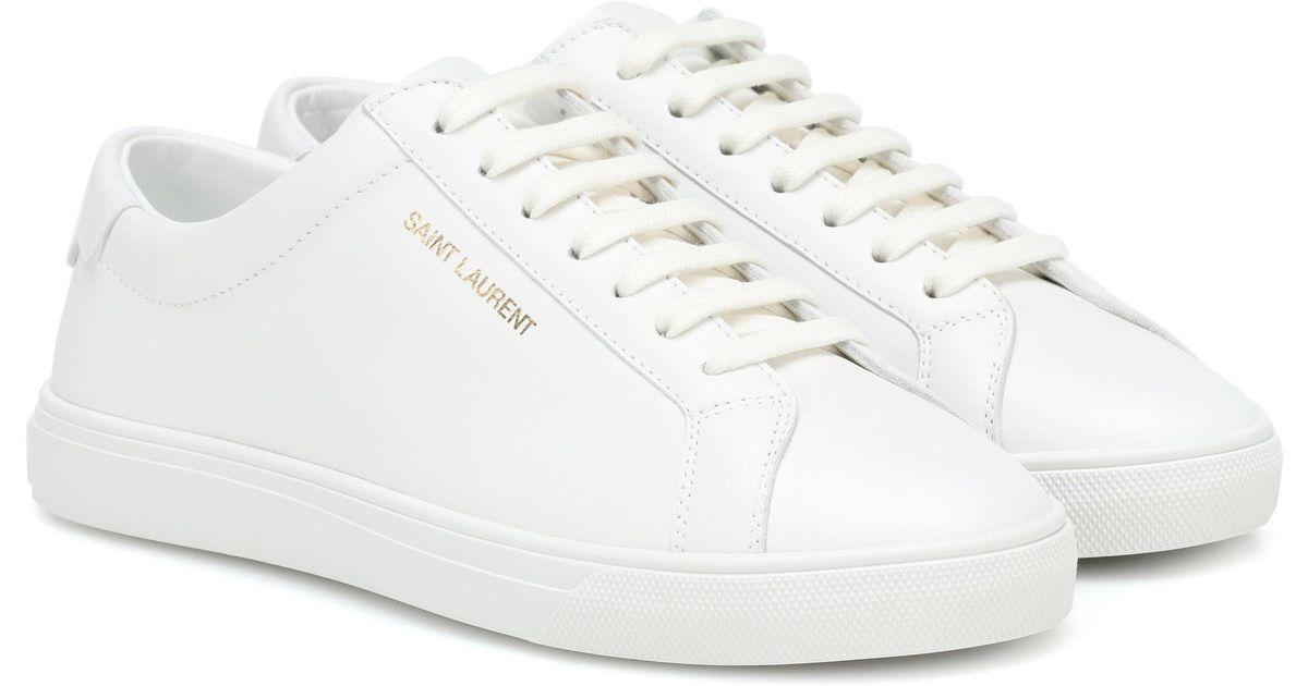 Andy SneakersBlack Saint Laurent SneakersBlack Leather Saint Leather Andy Leather Andy Saint SneakersBlack Laurent wXTOkZPiu