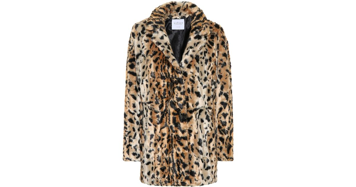 7bcc3d3ee965 Velvet Juliana Faux Fur Jacket - Lyst