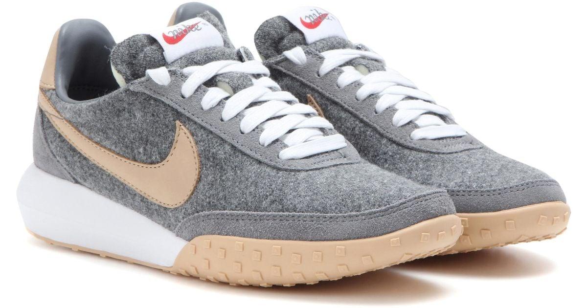 online store 680ed 44d4d Lyst - Nike Roshe Waffle Racer Premium Nm Sneakers in Gray