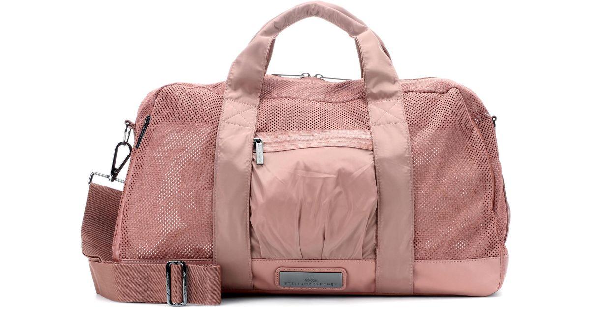 ee226162bc adidas By Stella McCartney Yoga Gym Bag in Pink - Lyst