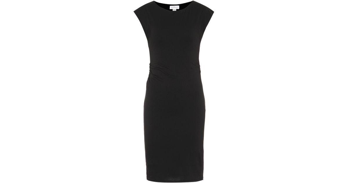 Vittoria stretch-cotton dress Velvet 8kSeaolG