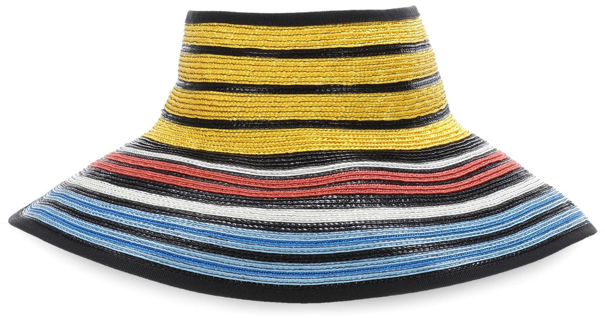 Discount 2018 New Sale Shop striped straw hat - Multicolour Missoni Buy Cheap Clearance qGPYmhrh