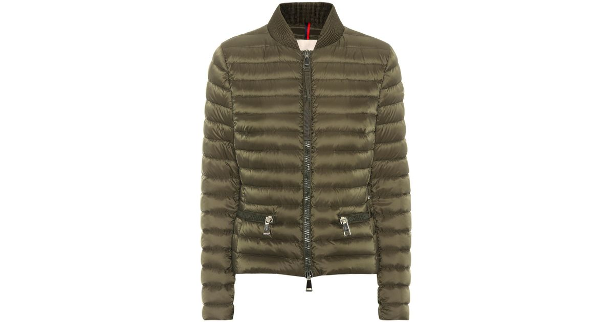539b2ff12 Moncler - Green Blen Down Jacket - Lyst