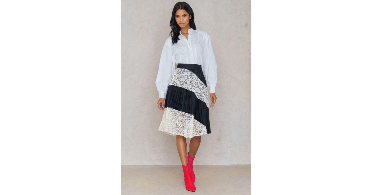 759c0d46ae319 FWSS - Black Heidi Lace Skirt - Lyst