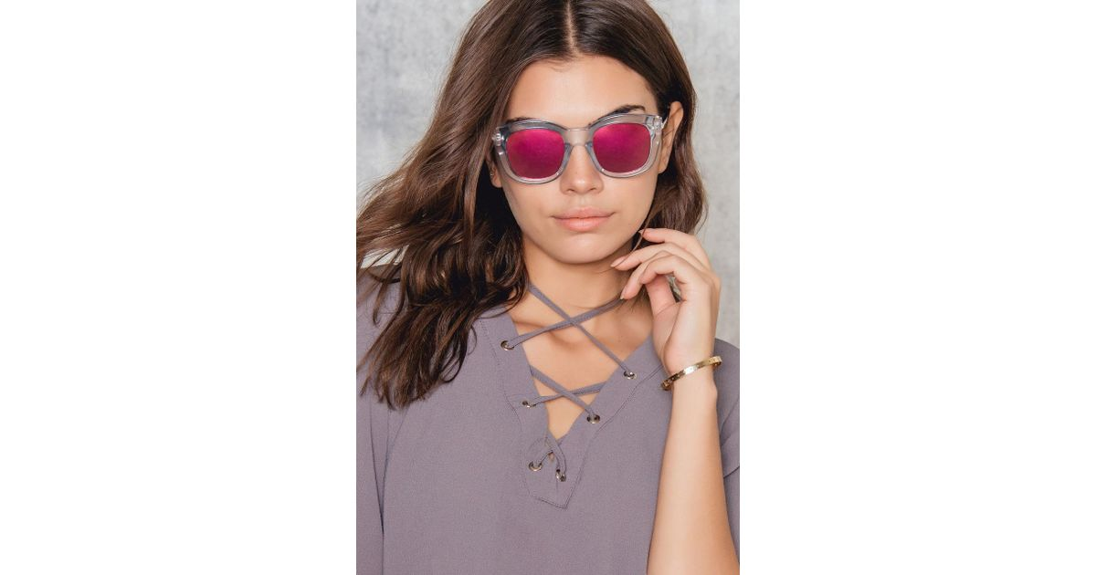 0df98ff4d2f Le Specs Runaways Luxe - Lyst