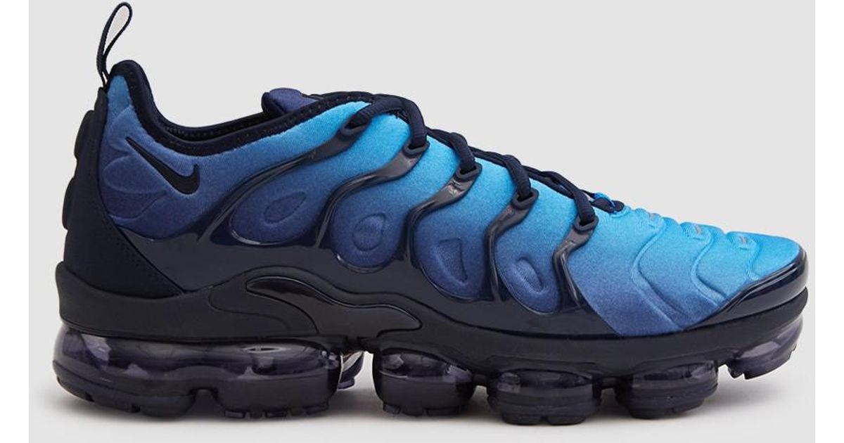 Lyst - Nike Air Vapormax Plus Shoe In Obsidian/obsidian-photo in Blue for  Men