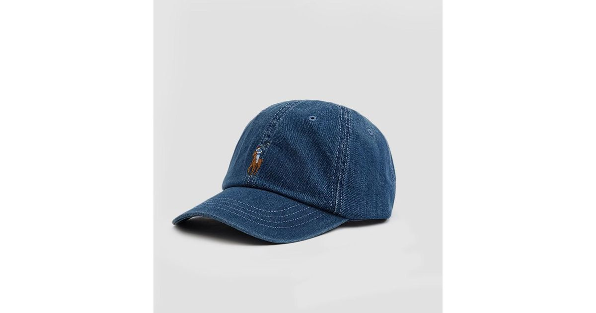 a3be593a0f5 Lyst - Polo Ralph Lauren Classic Sports Cap in Blue for Men