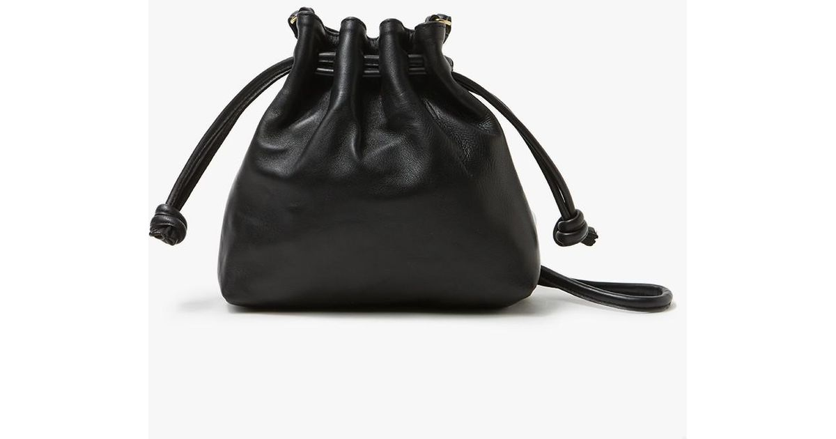 01527370a4 Lyst - Clare V. Petit Henri Maison In Black Nappa in Black