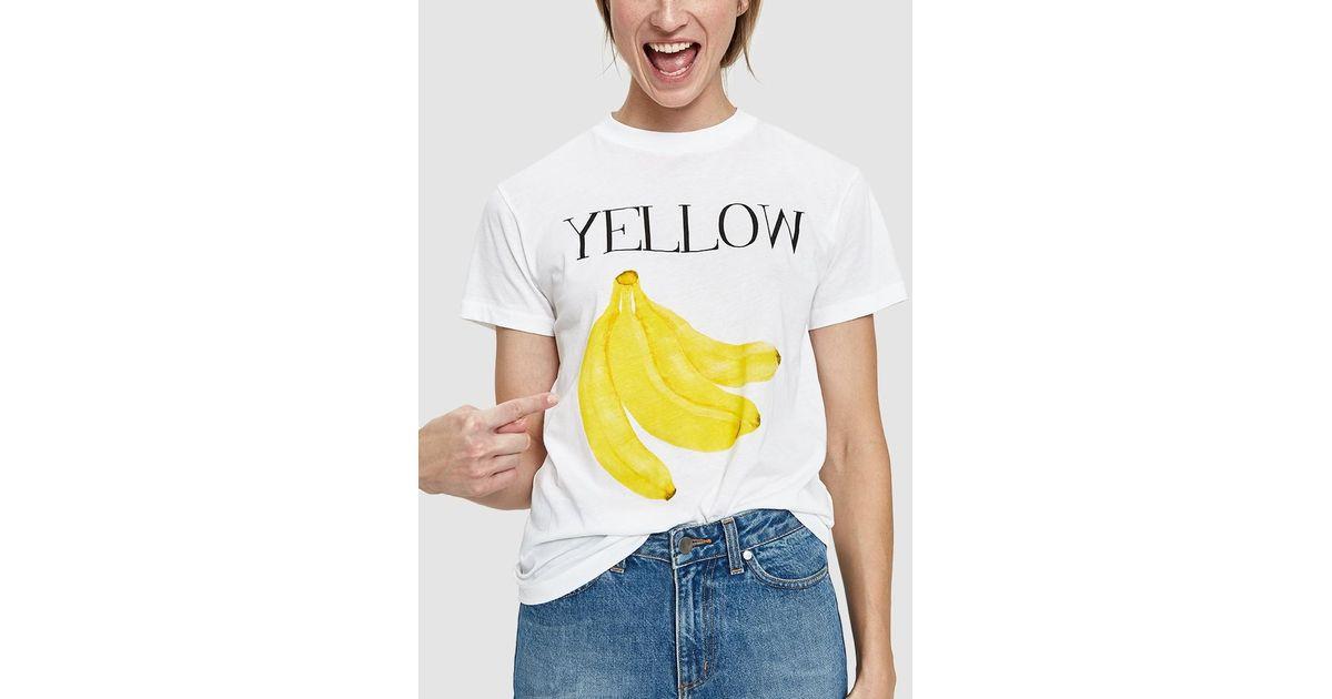 ganni yellow