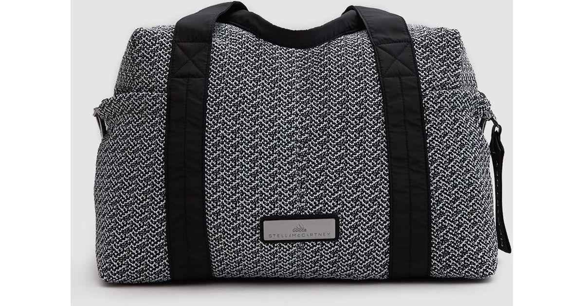 Lyst - adidas By Stella McCartney Shipshape Bag in Black 11fd95856ac91