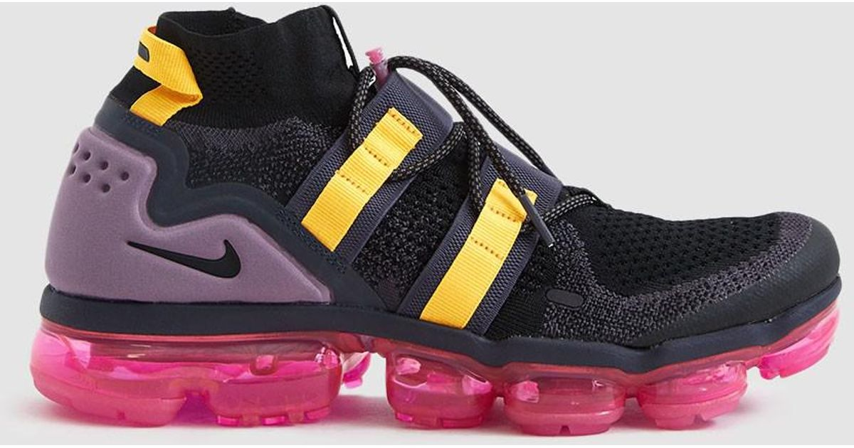 c294f533c5ed Lyst - Nike Air Vapormax Flyknit Utility Sneaker in Black for Men - Save 15%