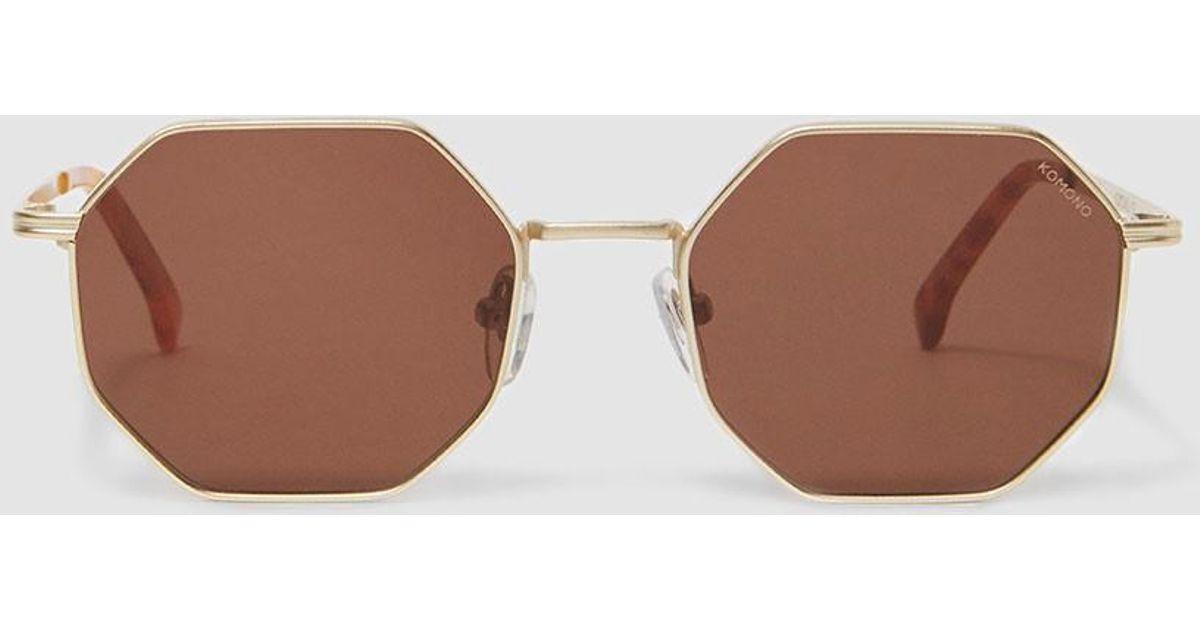 35822c242b Lyst - Komono Monroe Sunglasses in White
