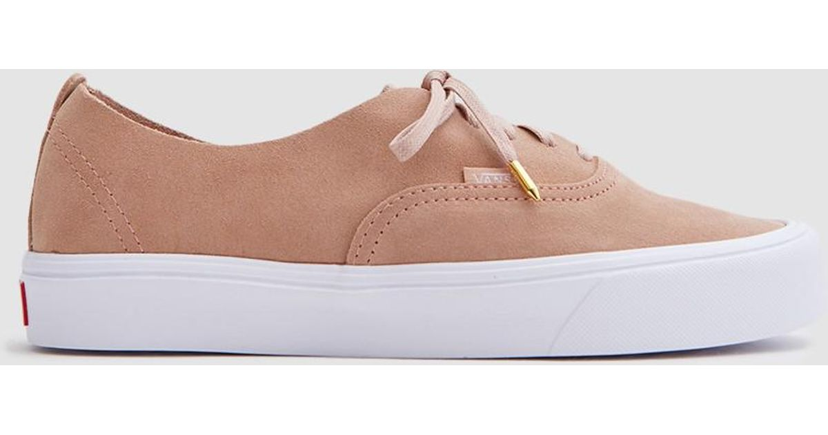 64f67685231f Lyst - Vans Authentic Decon Lite In Mahogany Rose true White in Pink for  Men .