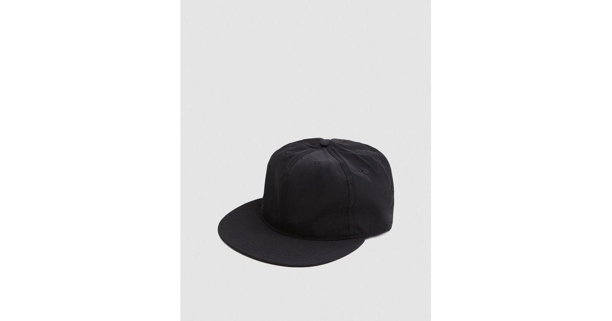 4b7a4eda9d6 Lyst - Paa Pleat Cap In Black in Black for Men