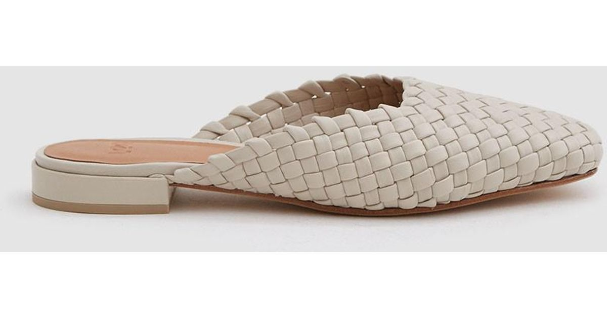 LOQ Galia Woven Leather Slippers - Neutral Discount Visit Geniue Stockist Cheap Online Sale Pick A Best Whole World Shipping K0zsAjTh