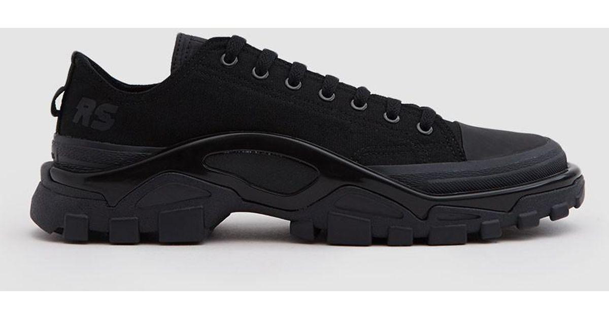 fd94f21419 adidas By Raf Simons Rs Detroit Runner Sneaker In Core Black/core Black in  Black for Men - Lyst