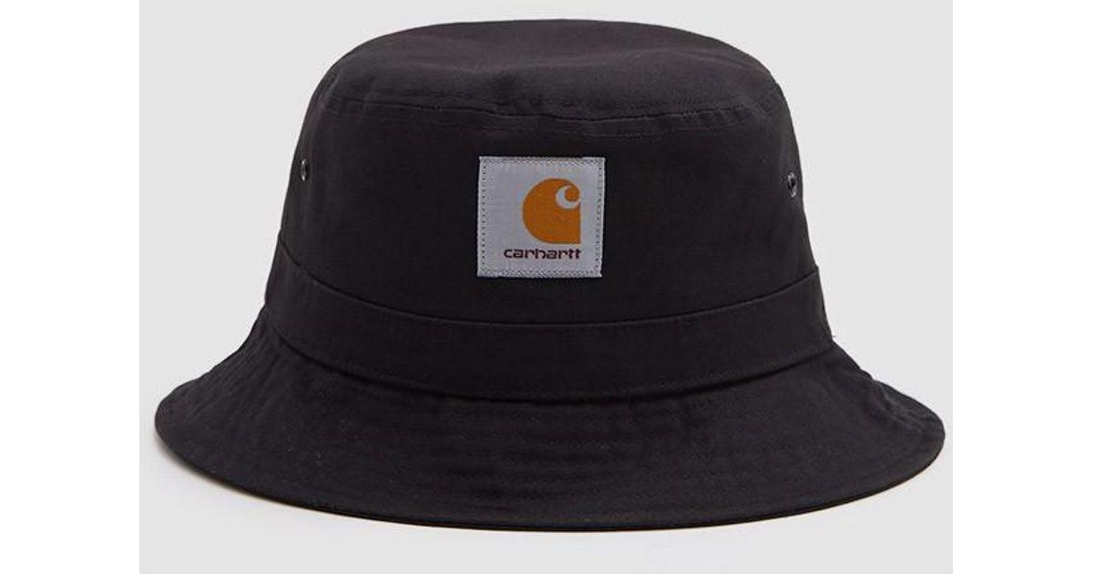 Lyst - Carhartt Wip Watch Bucket Hat In Black in Black for Men f2054554432a