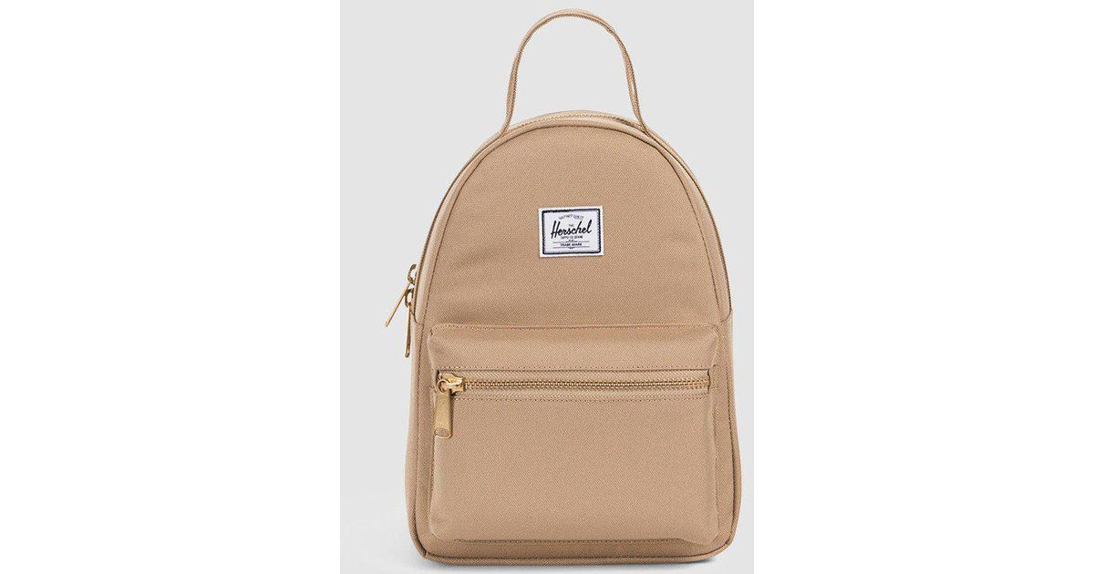 d4834eca686 Lyst - Herschel Supply Co. Nova Mini Backpack in Natural