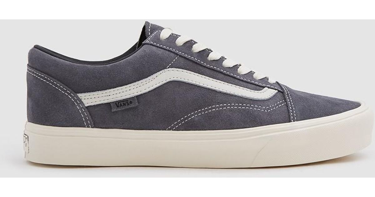 d23a1f1fa2d8fb Vans Old Skool Lite Lx Suede Sneaker In Grey Pinstripe in Gray for Men -  Lyst