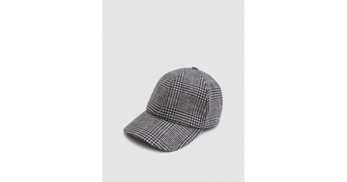 d441849f062 Lyst - Larose Paris Moon Wool Baseball Cap In Grey in Gray for Men