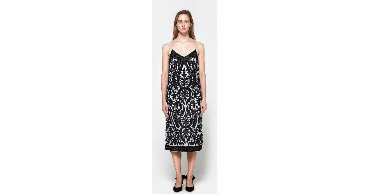 9ee13df9 Ganni Colby Sequins Slip Dress - Lyst