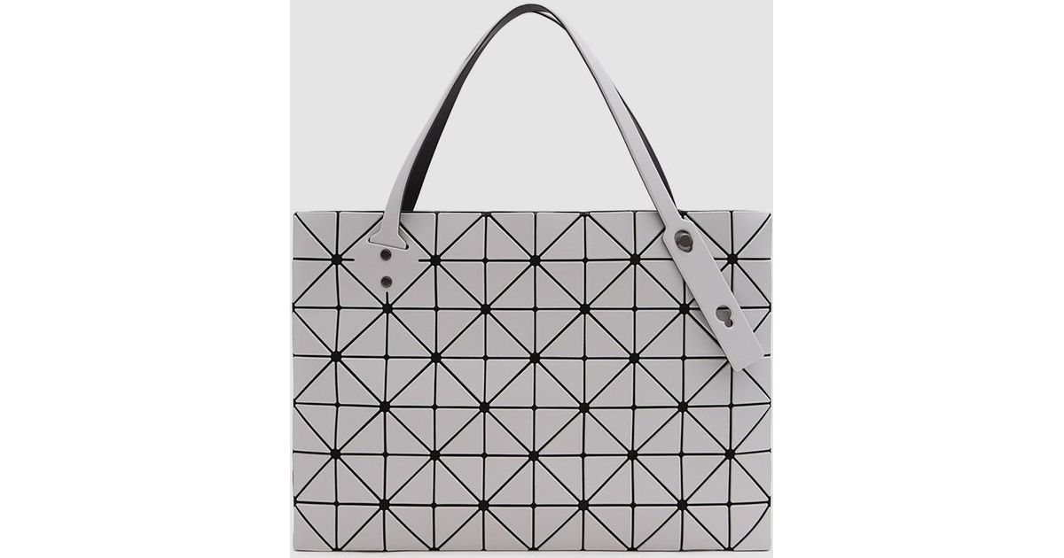 Lyst - Bao Bao Issey Miyake Rock Matte Large Tote in Gray 65401180ef8a7
