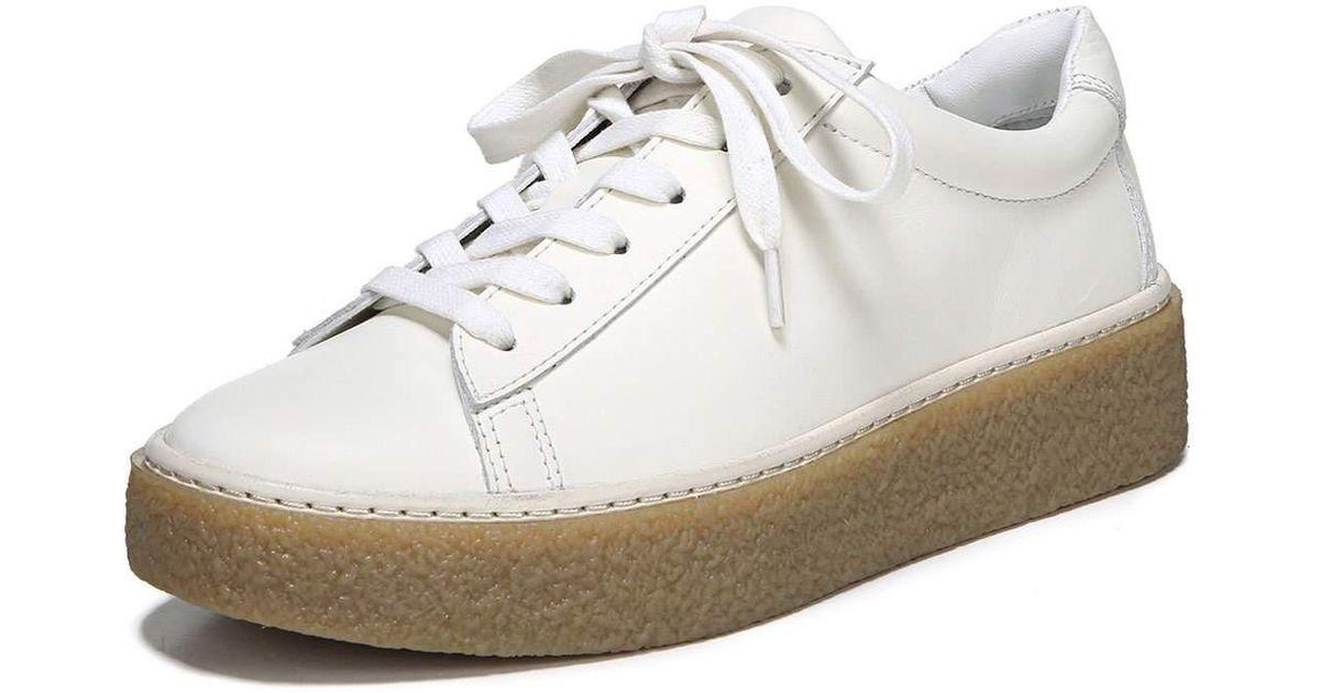 9e00ce890d1 Vince Neela Leather Platform Sneaker in White - Lyst
