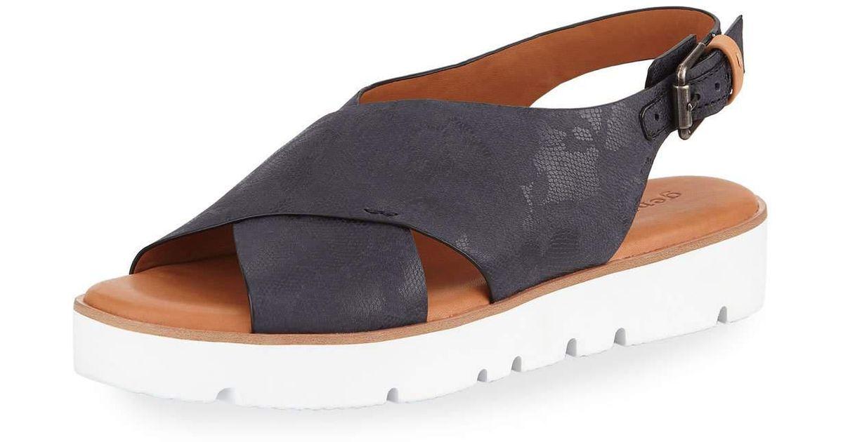 Gentle Souls Kiki Floral Leather Comfort Sandal V51UK0u