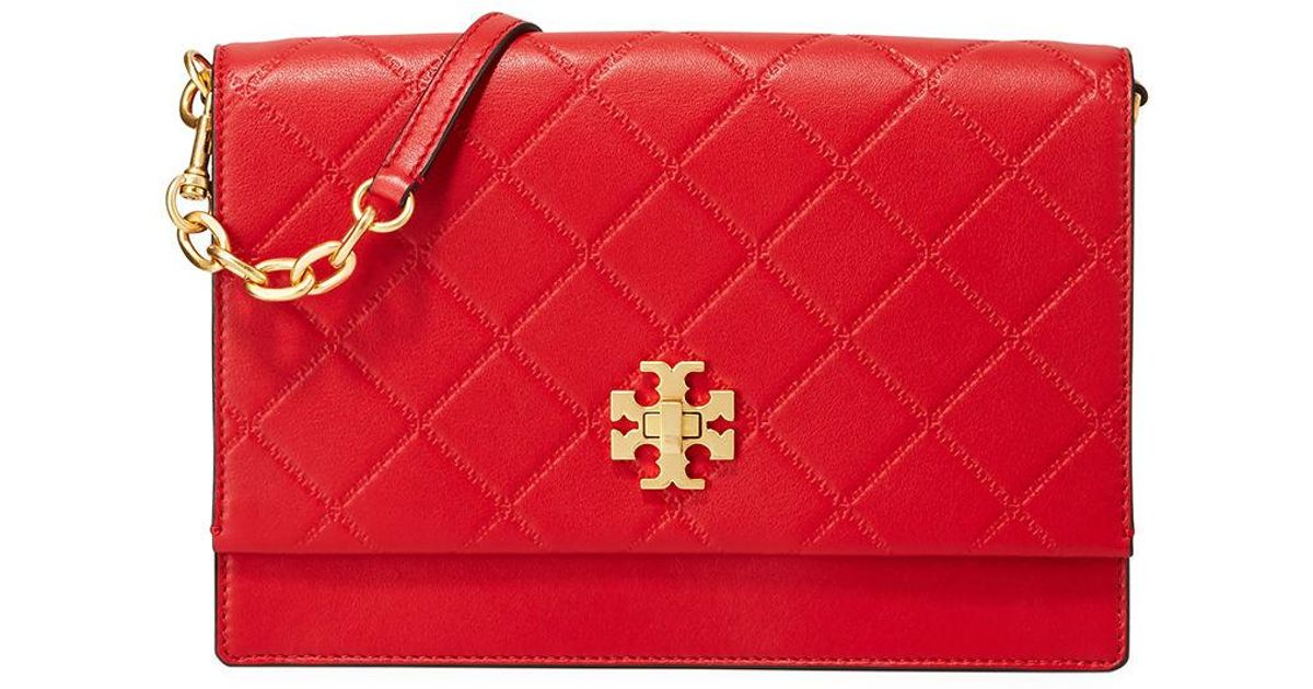 dcfcce61e099 Lyst - Tory Burch Georgia Convertible Crossbody Bag in Red