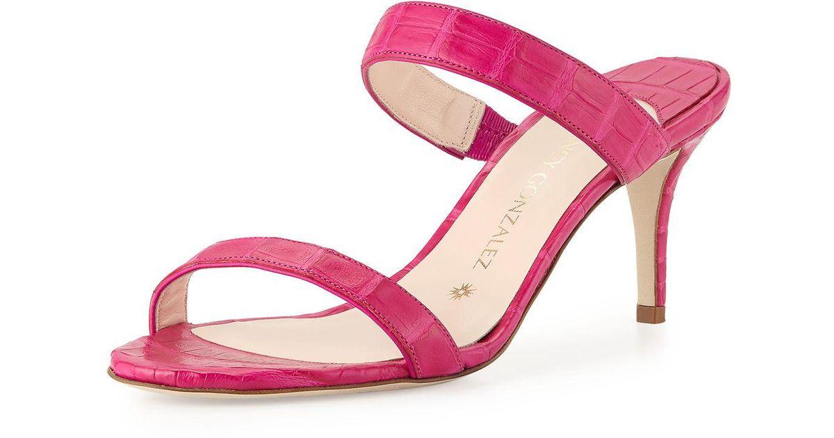 Pre-owned - Alligator heels Nancy Gonzalez WvznO3