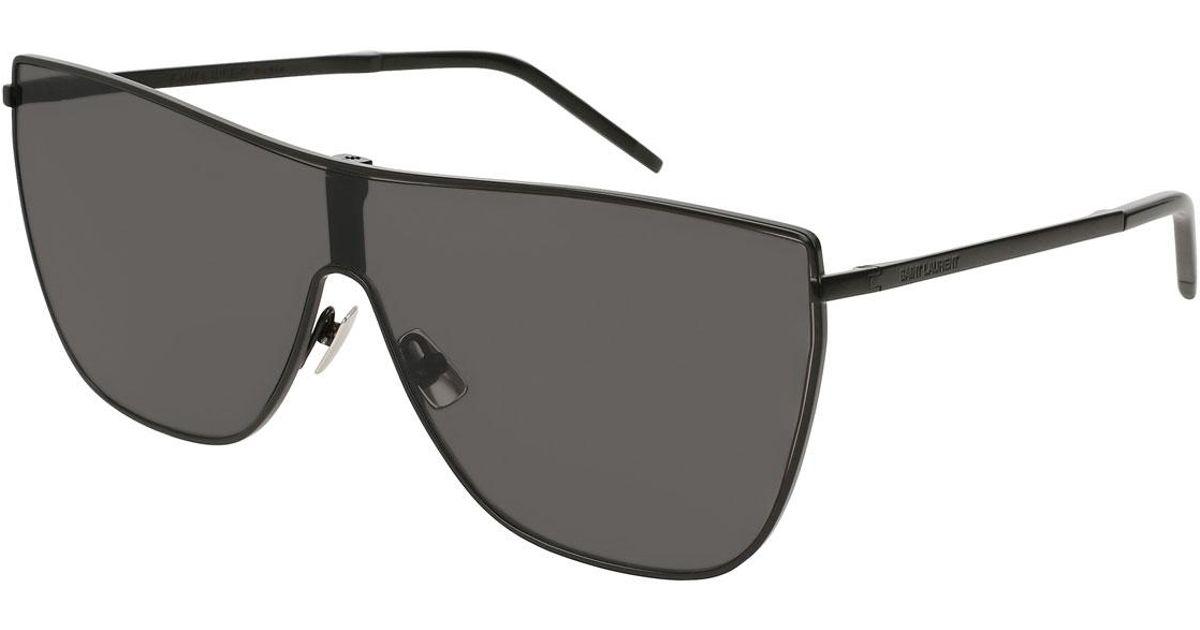 Mask metal sunglasses Saint Laurent 9UYdEQqo