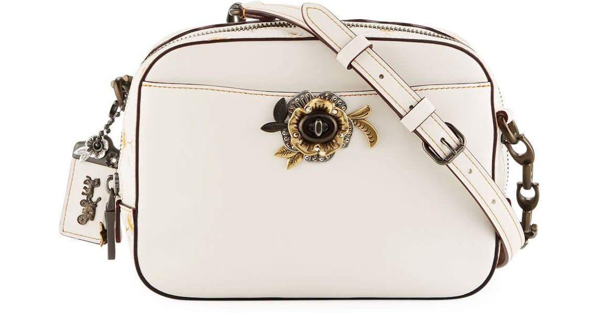 Lyst - Coach Vintage Prairie Tea Rose Camera Bag