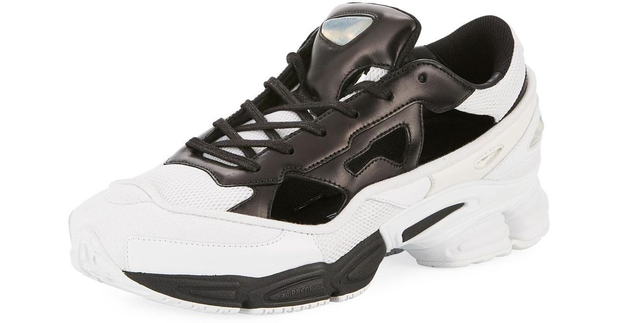 befecfdfb adidas By Raf Simons Men's Replicant Ozweego Trainer Sneakers in Black for  Men - Lyst