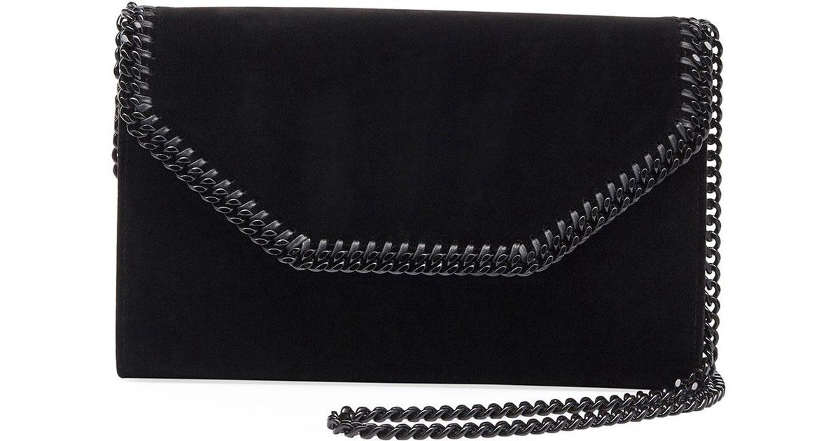 ef0512466d40 ... Lyst - Stella Mccartney Falabella Eco Alter Velvet Box Clutch Bag in  Black quality design 4dab8 ...