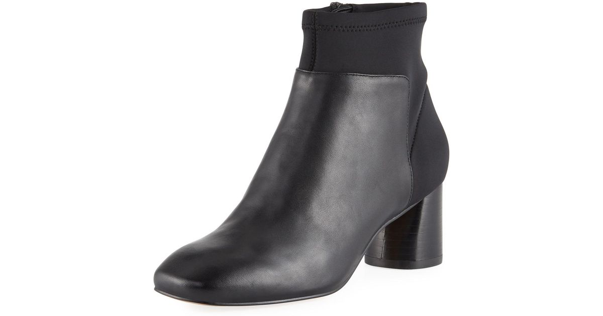 f827d3c9528 Lyst - Donald J Pliner Cazzie Stretch Leather Booties in Black
