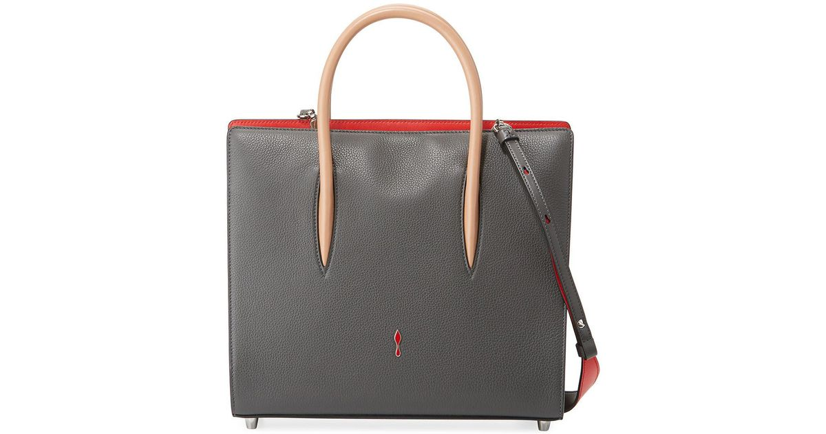 7162cfd41c9 Christian Louboutin - Multicolor Paloma Medium Spike Leather Tote Bag - Lyst