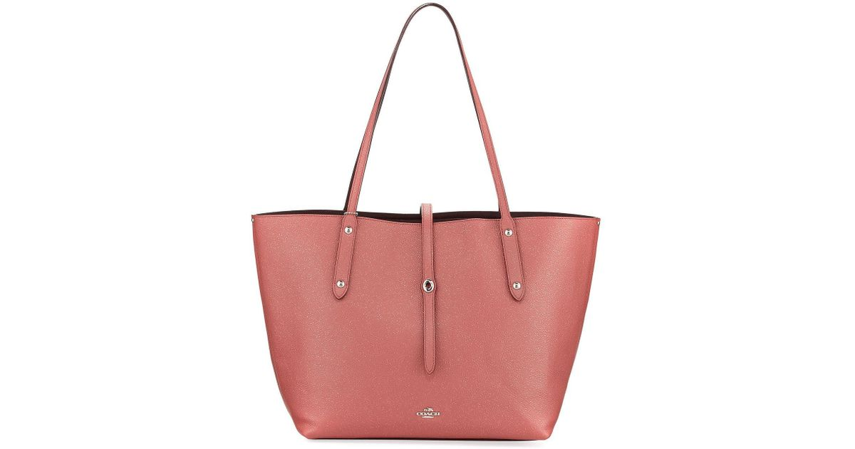 Lyst - COACH Market Glitter Rose Tote Bag 6c05dbf83a62c