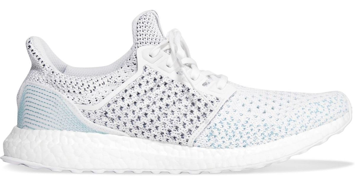 5feec92b8 adidas Originals + Parley Ultra Boost Clima Primeknit Sneakers in Gray -  Lyst